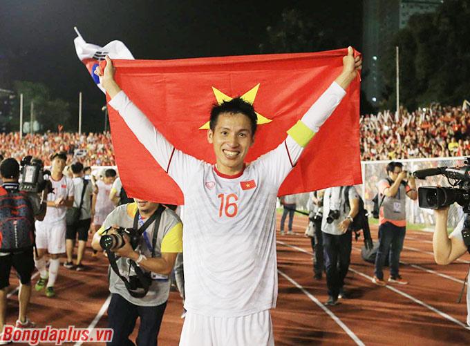 Đỗ Hùng Dũng có tấm huy chương vàng ở lần đầu tiên tham dự SEA Games