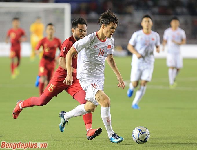 Tuy nhiên, U22 Việt Nam vẫn bảo toàn cách biệt 1-0 sau hiệp 1, qua đó gia tăng sự tự tin trong hiệp 2.