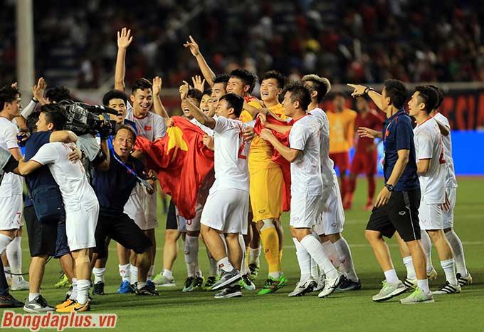 Chiến thắng 3-0 của U22 Việt Nam trước U22 Indonesia ngang bằng với kết quả mà Thái Lan có được trước Myanmar (2015) và Việt Nam (2005)
