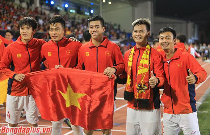 Các cầu thủ U22 Việt Nam đã có một kỳ SEA Games đáng nhớ trong sự nghiệp.