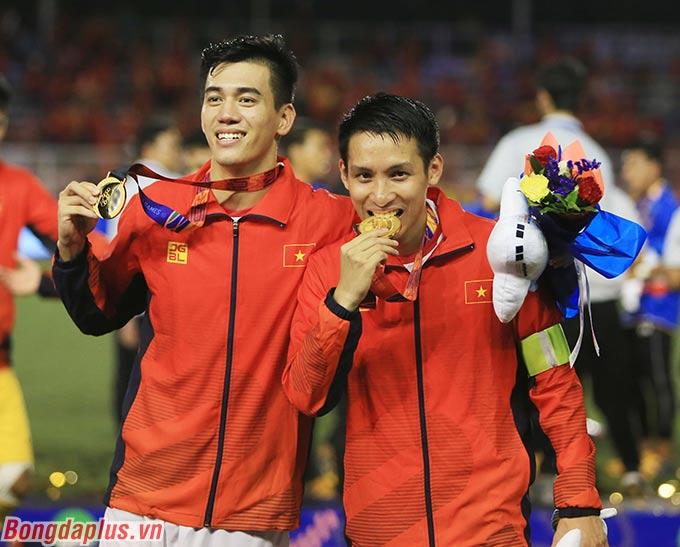 Tiến Linh, Hùng Dũng đã góp công lớn giúp U22 Việt Nam giành huy chương vàng SEA Games.