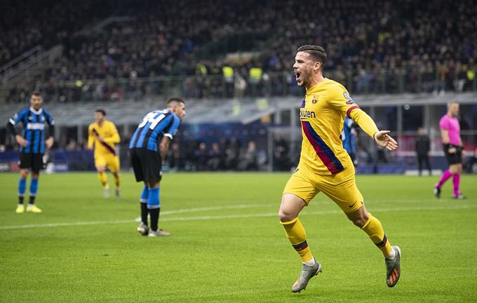 Perez mở tỷ số cho Barca