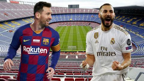 Barca và Real cùng thăng hoa trước thềm Siêu kinh điển