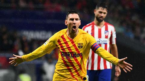 Messi chinh phạt mọi sân bóng ở La Liga
