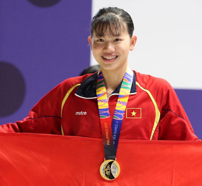 Ánh Viên sẽ được vinh danh tại lễ bế mạc SEA Games 30