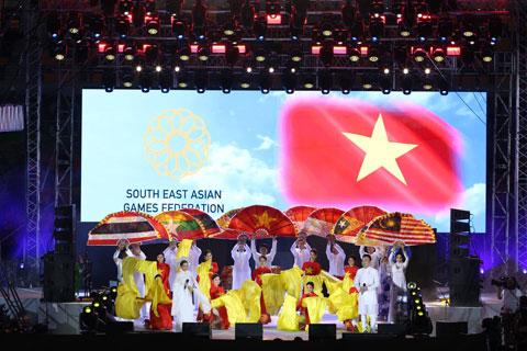 Chương trình ca nhạc giới thiệu về đất nước và con người Việt Nam tại lễ bế mạc