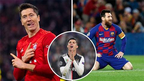Nhìn lại vòng bảng Champions League: Lewandowski làm lu mờ Messi và Ronaldo