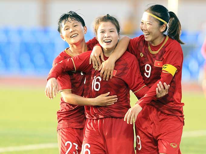 ĐT nữ Việt Nam hướng đến vòng loại thứ 3 tham dự Olympic Tokyo 2020 vào tháng 2 tới đây - Ảnh: Đức Cường