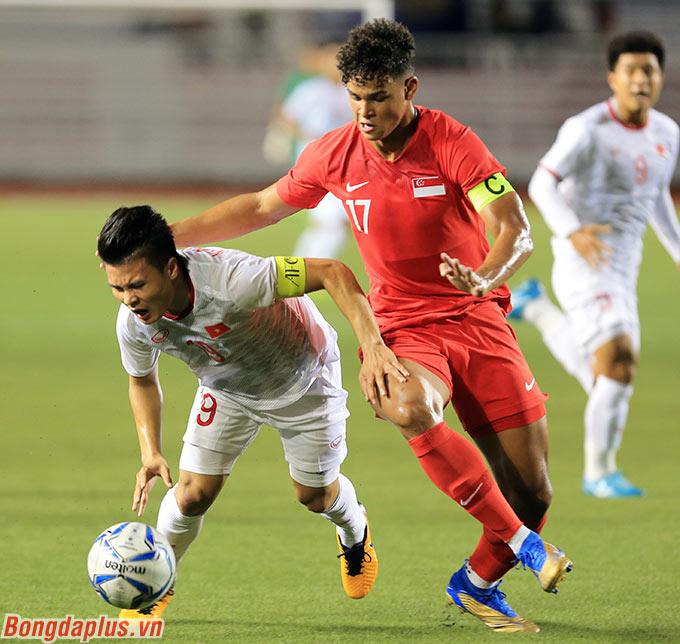 Chấn thương bất ngờ của Quang Hải là điều mà ông Park đã không nghĩ đến - Ảnh: Đức Cường