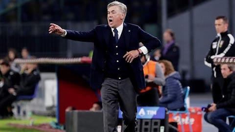 Arsenal muốn có Ancelotti ngay lập tức