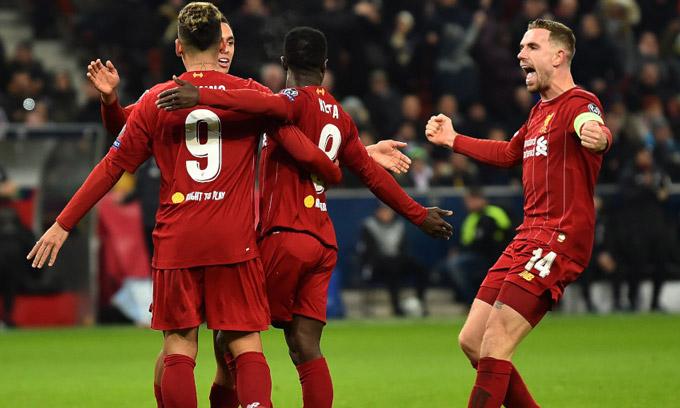 Liverpool đã xuất sắc vào vòng 1/8