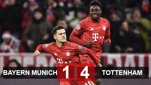 Bayern Munich 1-3 Tottenham: Mourinho bất lực, Gà trống phục hận bất thành