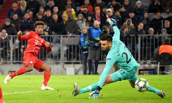 Bayern áp đảo hoàn toàn Tottenham trong suốt 90 phút