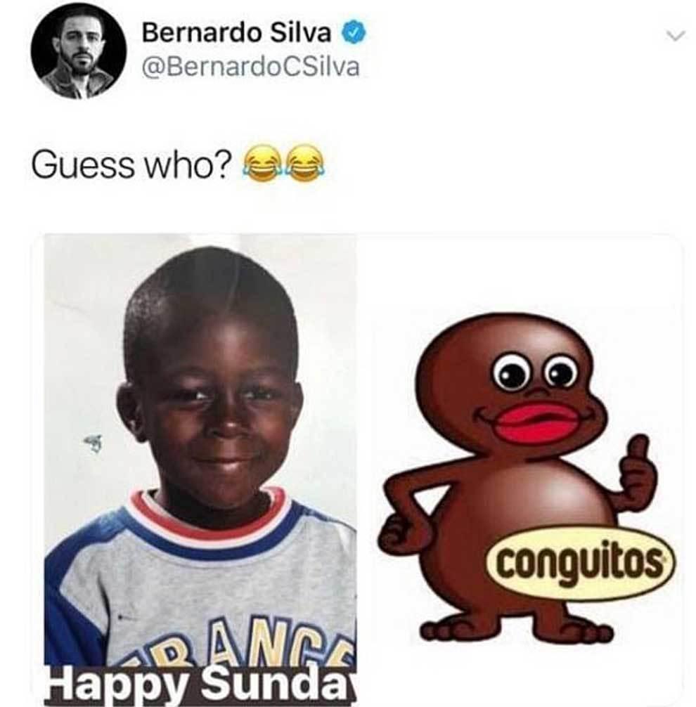 Bernardo Silva trêu chọc Mendy trên MXH