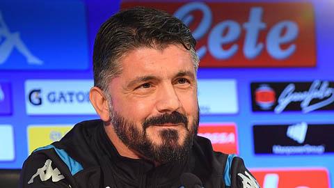 Napoli xác nhận Gattuso lên thay Ancelotti