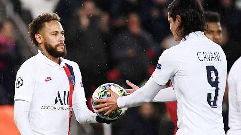 Neymar nhường cho Cavani sút penalty: Bàn thắng đẹp nhất mùa của Neymar