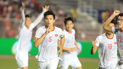 U22 Việt Nam giành chiến thắng thuyết phục tại SEA Games 30