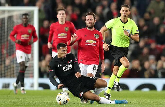 Mata có 1 bàn thắng và 2 đường kiến tạo