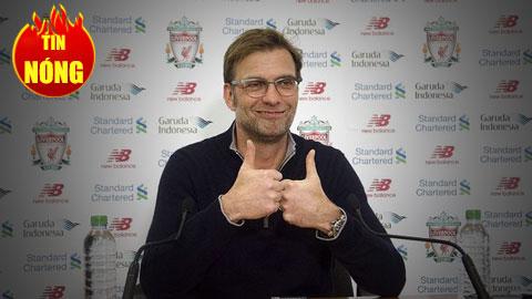 Liverpool trói chân thành công HLV Klopp
