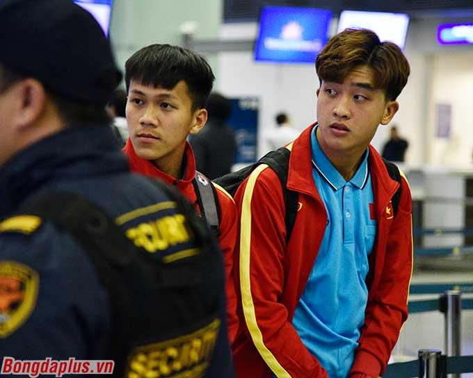 Bảo Toàn, Danh Trung tiếp tục được trao cơ hội lên U23 Việt Nam. Trước đó cả hai từng được gọi lên trong các đợt tập trung chuẩn bị cho SEA Games 2019.