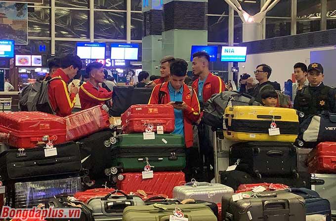 Với lực lượng gần 40 người bao gồm cả cầu thủ và Ban huấn luyện, U23 Việt Nam sẵn sàng cho cuộc dã chiến ở Han Quốc, chuẩn bị cho VCK U23 châu Á 2020.