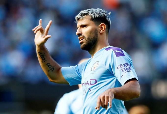 Aguero chưa thể trở lại vì chấn thương