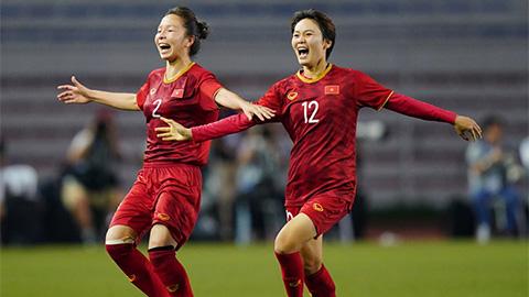 ĐT nữ Việt Nam thăng tiến mạnh trên BXH FIFA