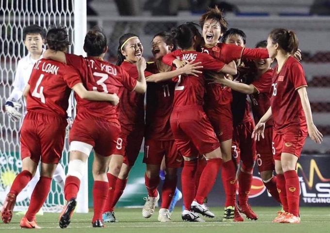 ĐT nữ Việt Nam tiếp tục cải thiện thứ hạng trên BXH FIFA