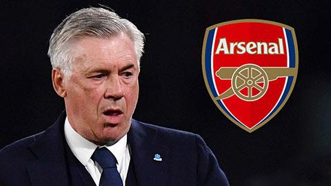 2 lý do Arsenal sẽ không tiến tới với Ancelotti