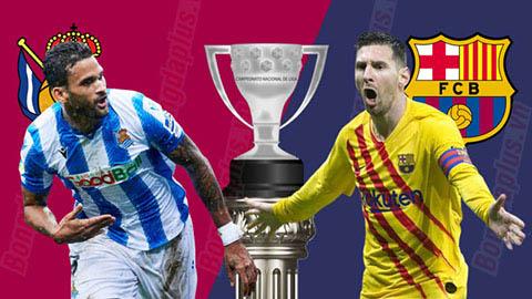 Sociedad vs Barcelona, 22h00 ngày 14/12: Lấy đà cho El Clasico