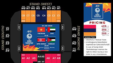 Vé xem U23 Việt Nam ở VCK U23 châu Á không quá chát - xổ số ngày 18102019