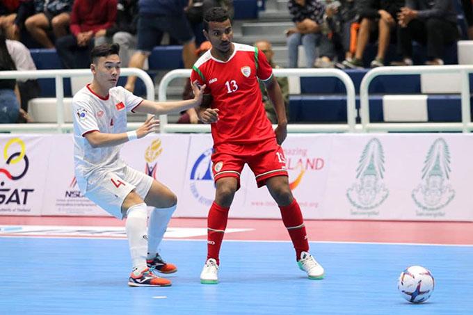 """Đánh bại Oman, ĐT futsal Việt Nam hẹn Thái Lan trong trận """"chung kết"""""""