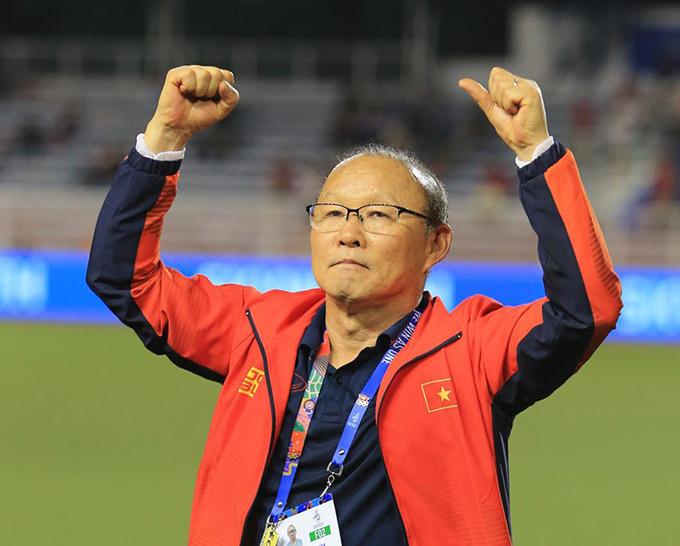 Ông Park muốn U23 Việt Nam chuẩn bị kỹ càng trước khi nghĩ đến mục tiêu Olympic - Ảnh: Đức Cường