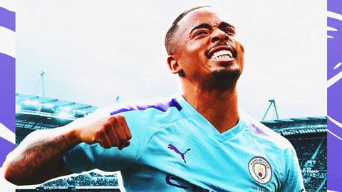 Gabriel Jesus: Vượt áp lực và cô đơn để khoác vừa áo số 9 của Man City