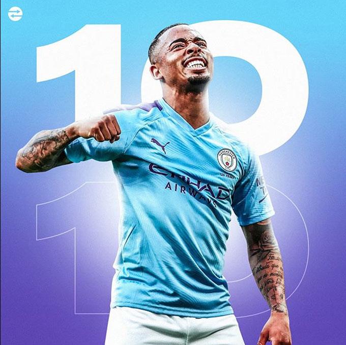 Những nỗ lực đã dần được đền đáp khi Jesus trở thành cầu thủ người Brazil trẻ nhất đạt mốc 10 bàn tại Champions League