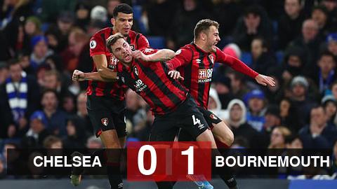 Chelsea 0-1 Bournemouth: VAR khiến The Blues gục ngã ngay trên sân nhà