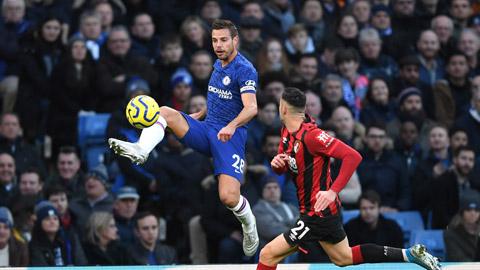 22h00 tối nay, trực tiếp: Chelsea vs Bournemouth