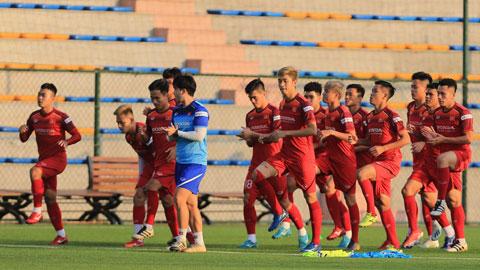 U23 Việt Nam tập huấn tại Hàn Quốc: Hai bài toán cần lời giải