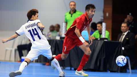ĐT futsal Việt Nam đấu chung kết với Thái Lan ở giả Futsal PTT Thailand Five 2019