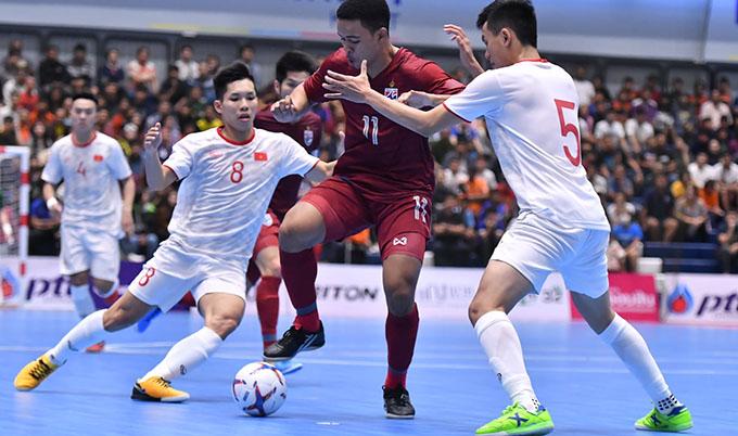 ĐT futsal Việt Nam khởi đầu khá tốt