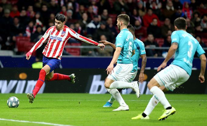 Morata khai thông bế tắc mở ra chiến thắng cho Atletico