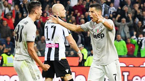 Trực tiếp Juventus vs Udinese, 21h00 ngày 1512 - xs chủ nhật