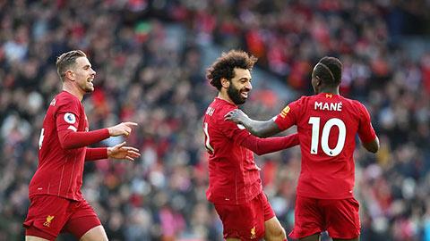 Liverpool bây giờ đá kiểu gì cũng thắng