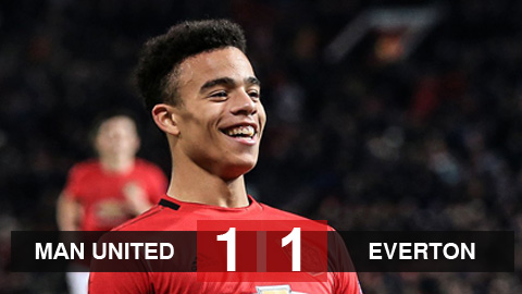 M.U 1-1 Everton: Greenwood lập công, Quỷ đỏ vẫn lỡ cơ hội vào top 5