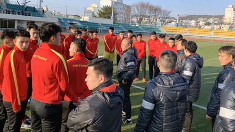 Các tuyển thủ U23 Việt Nam hồi phục nhanh