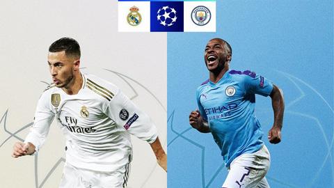 Lịch thi đấu, kết quả vòng 1/8 Champions League 2019/20