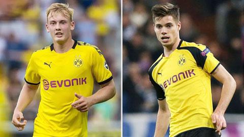 Julian-Julian, 'trái tim mới' của Dortmund