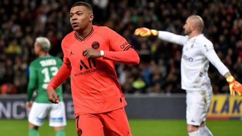 PSG bất bại 16 trận liên tiếp: Vì không thể cản Mbappe