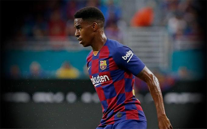 Junior Firpo đã đóng góp 1 bàn cho Barca ở La Liga