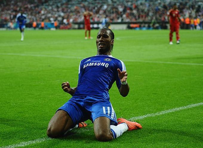 Drogba là hung thần của Bayern ở chung kết Champions League 2012